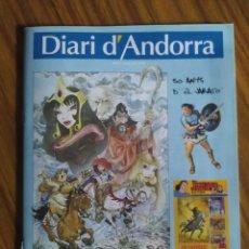 Cómics: ESPECIAL JABATO. DIARI D'ANDORRA. LA MASSANA. EN CATALÁN, 36 PÁGINAS.. Lote 229042095