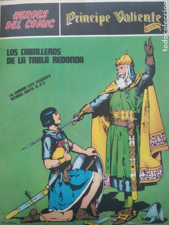 Cómics: Comic el Príncipe Valiente Tomo 1.números del 1 al 6.Edita Buru Lan.1972 - Foto 3 - 229307895