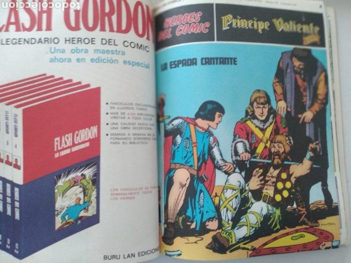 Cómics: Comic el Príncipe Valiente Tomo 1.números del 1 al 6.Edita Buru Lan.1972 - Foto 4 - 229307895
