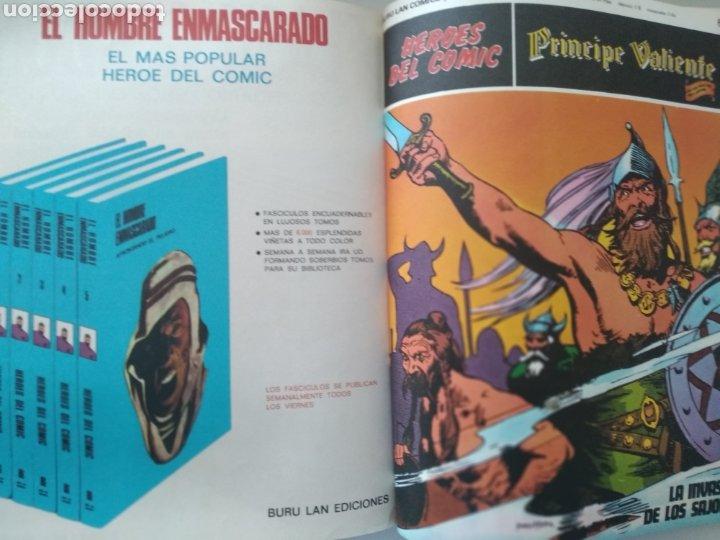 Cómics: Comic el Príncipe Valiente Tomo 1.números del 1 al 6.Edita Buru Lan.1972 - Foto 6 - 229307895