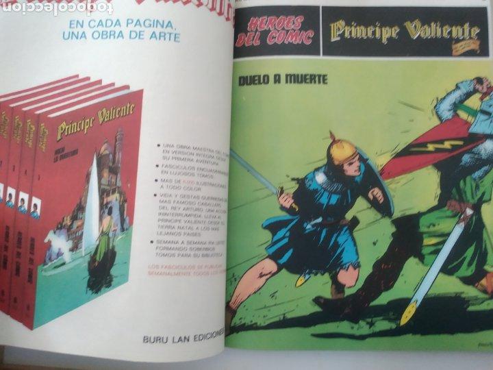Cómics: Comic el Príncipe Valiente Tomo 1.números del 1 al 6.Edita Buru Lan.1972 - Foto 8 - 229307895