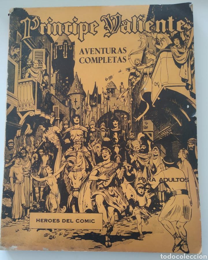 COMIC EL PRÍNCIPE VALIENTE TOMO 1.NÚMEROS DEL 1 AL 6.EDITA BURU LAN.1972 (Tebeos y Comics - Buru-Lan - Principe Valiente)