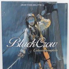 Cómics: BLACK CROW, COLECCIÓN COMPLETA EN SU ESTUCHE ORIGINAL, JEAN - YVES DELITTE. Lote 229425725