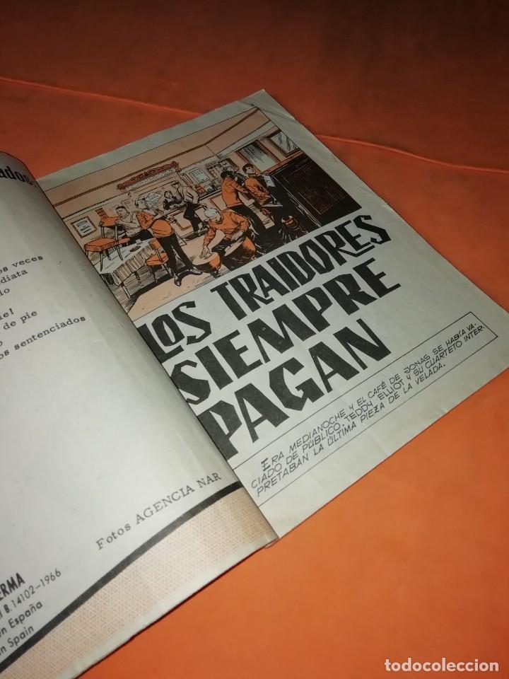 Cómics: AGENTE SECRETO. Nº 17. LOS TRAIDORES SIEMPRE PAGAN. EDITORIAL FERMA. 1966 - Foto 5 - 229493330