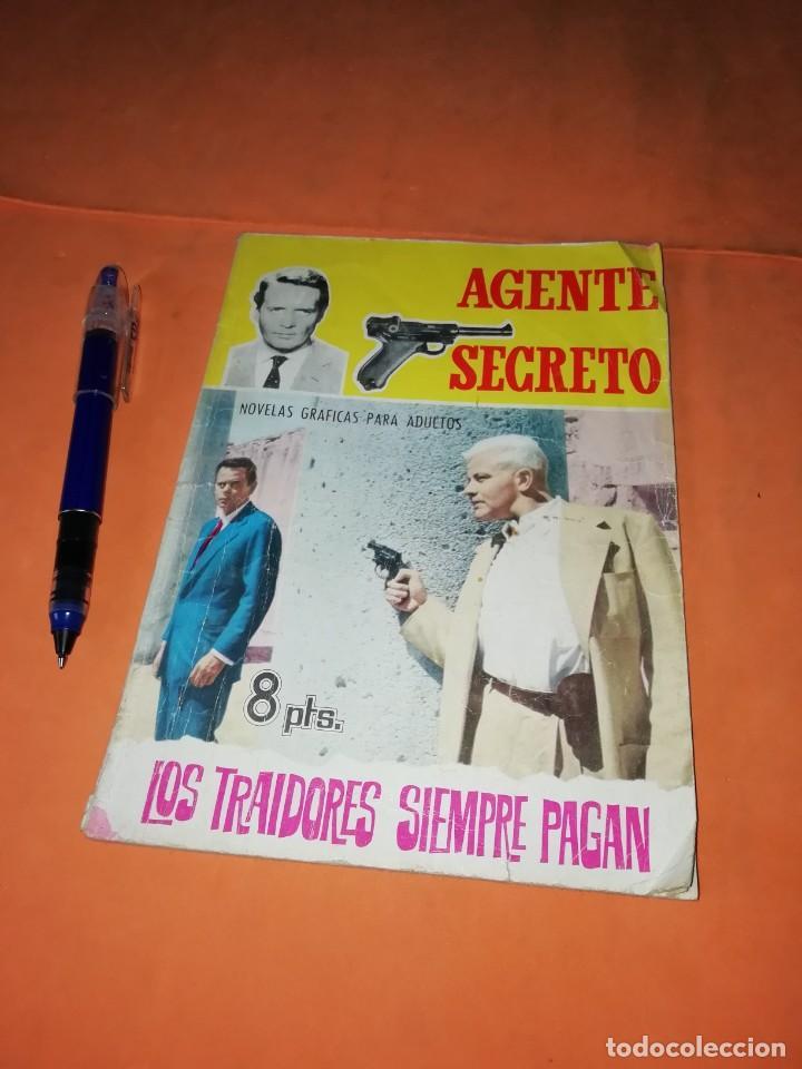 Cómics: AGENTE SECRETO. Nº 17. LOS TRAIDORES SIEMPRE PAGAN. EDITORIAL FERMA. 1966 - Foto 6 - 229493330