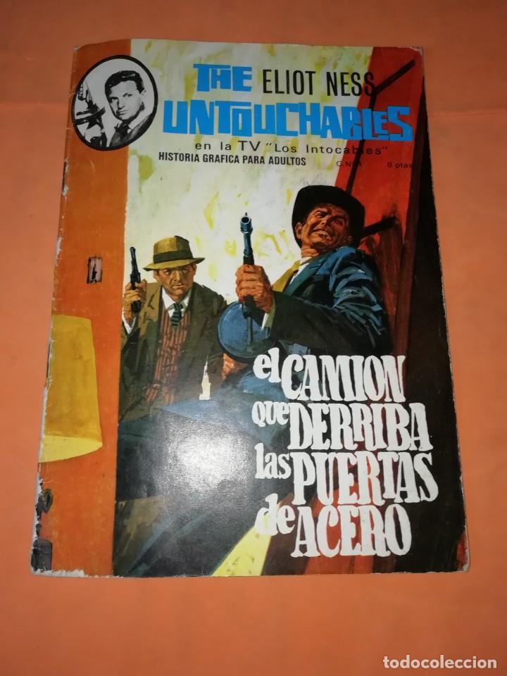 THE ELLIOT NESS UNTOUCHABLES. Nº 4. EL CAMION QUE DERRIBA LAS PUERTAS DE ACERO. ARTIFI 1966 (Tebeos y Comics Pendientes de Clasificar)