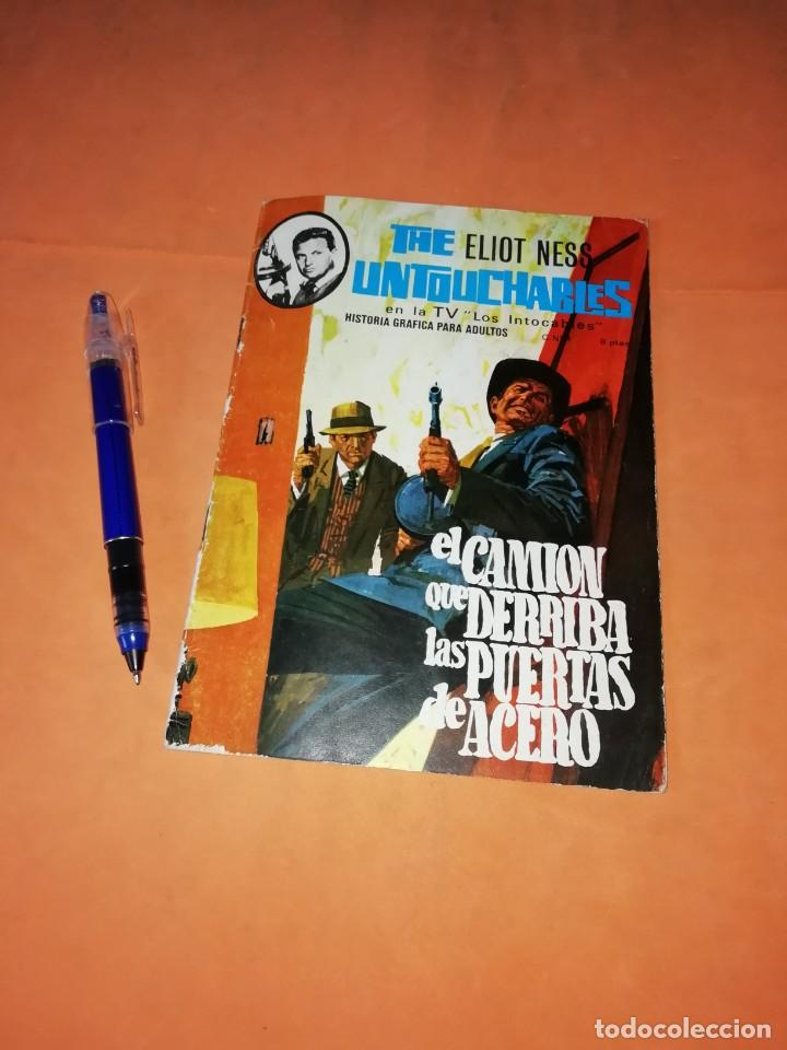 Cómics: THE ELLIOT NESS UNTOUCHABLES. Nº 4. EL CAMION QUE DERRIBA LAS PUERTAS DE ACERO. ARTIFI 1966 - Foto 3 - 229494295