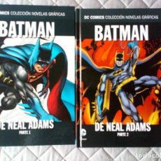 Cómics: BATMAN DE NEAL ADAMS TOMOS 1 2 COMPLETA - ECC / DC COLECCION NOVELAS GRAFICAS. Lote 229705445