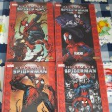 Cómics: ULTIMATE SPIDERMAN 4 TOMOS. Lote 229822975