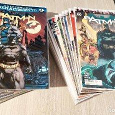 Cómics: BATMAN RENACIMIENTO ETAPA TOM KING COMPLETA 43 NÚMEROS EN GRAPA DESDE EL 56/1 AL 98/43 ECC. Lote 230000910