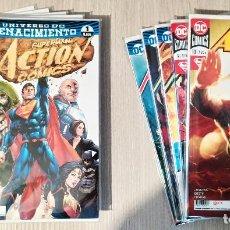 Cómics: SUPERMAN ACTION COMICS RENACIMIENTO DAN JURGENS COMPLETA 10 TOMOS RÚSTICA ECC (1+2+3+4+5+6+7+8+9+10). Lote 230515580