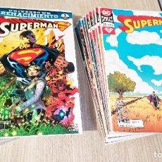 Cómics: SUPERMAN RENACIMIENTO ETAPA TOMASI Y GLEASON COMPLETA 24 NÚMEROS GRAPA DESDE 56/1 AL 79/24 ECC. Lote 230516635