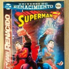 Cómics: SUPERMAN RENACIDO TOMO RÚSTICA INTEGRAL ECC (DAN JURGENS, PETER J. TOMASI, PATRICK GLEASON...). Lote 230518065