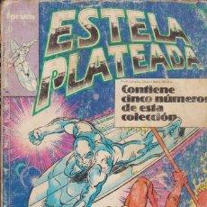 Cómics: CÓMIC MARVEL ESTELA PLATEADA TOMO 3 (NºS 11 - 15) ED, PLANETA / FORUM (RETAPADO). Lote 230931350