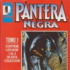 Cómics: CÓMIC MARVEL KNIGHTS- PANTERA NEGRA - TOMO 1 (NºS 1 A 5) ED, FORUM (RETAPADO). Lote 230934860