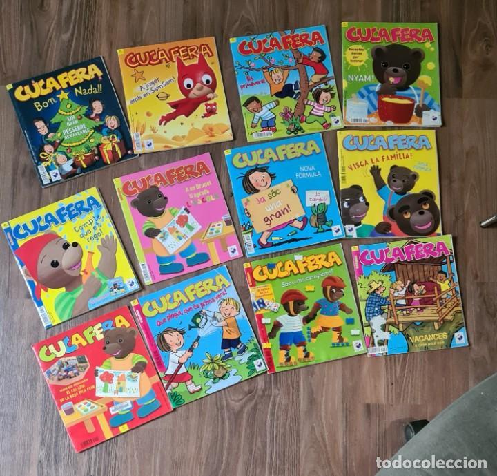 LOTE DE 12 REVISTAS CUCAFERA (Tebeos y Comics - Comics Pequeños Lotes de Conjunto)