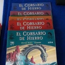 Comics: EL CORSARIO DE HIERRO: COLECCIÓN FANS - LOTE CON LOS Nº 1 AL 7 - EDICIONES B. Lote 231141700