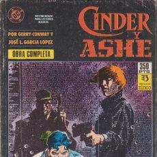 """Cómics: CÓMIC DC """" CINDER Y ASHE """" TOMO Nº 1 ( NºS 1 A 4 OBRA COMPLETA ) ED, ZINCO ( RETAPADO ). Lote 231169470"""