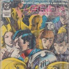 """Cómics: CÓMIC DC """" LEGIÓN DE SUPER-HEROES """" TOMO Nº 2 ( NºS 9 A 13 ) ED, ZINCO ( RETAPADO ). Lote 231170770"""