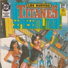 """Cómics: CÓMIC DC """" LOS NUEVOS TITANES """" TOMO Nº 3 ( NºS 12 A 16 ) ED, ZINCO ( RETAPADO ). Lote 231172325"""