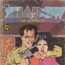 """Cómics: CÓMIC DC """" THE SHADOW ( LA SOMBRA ) """" TOMO Nº 1 ( NºS 1 A 4 ) ED, ZINCO ( RETAPADO ). Lote 231173025"""