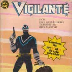 """Cómics: CÓMIC DC """" VIGILANTE """" TOMO Nº 5 ( NºS 21 A 24 ) ED, ZINCO ( RETAPADO ). Lote 231174285"""