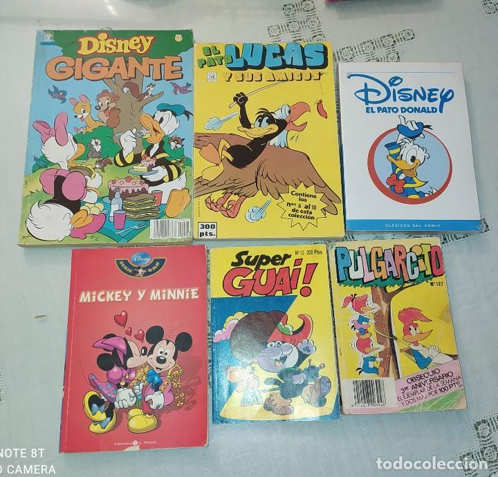 LOTE 6 COMICS INFANTILES (Tebeos y Comics - Comics Pequeños Lotes de Conjunto)