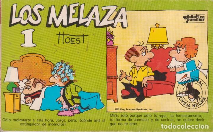 "CÓMIC REC. TIRAS DE PRENSA "" LOS MELAZA Nº 1 (TTOEST) ED. OVEJA NEGRA (BIB. FAMILIAR) 1987 COLOMBIA (Tebeos y Comics Pendientes de Clasificar)"