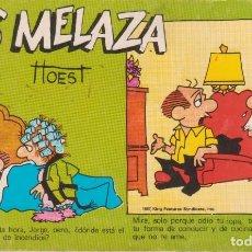 """Cómics: CÓMIC REC. TIRAS DE PRENSA """" LOS MELAZA Nº 1 (TTOEST) ED. OVEJA NEGRA (BIB. FAMILIAR) 1987 COLOMBIA. Lote 231349585"""