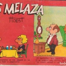 """Cómics: CÓMIC REC. TIRAS DE PRENSA """" LOS MELAZA Nº 2 (TTOEST) ED. OVEJA NEGRA (BIB. FAMILIAR) 1987 COLOMBIA. Lote 231350450"""