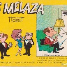 """Cómics: CÓMIC REC. TIRAS DE PRENSA """" LOS MELAZA Nº 4 (TTOEST) ED. OVEJA NEGRA (BIB. FAMILIAR) 1987 COLOMBIA. Lote 231351205"""