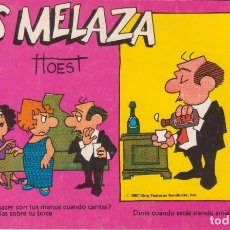 """Cómics: CÓMIC REC. TIRAS DE PRENSA """" LOS MELAZA Nº 6 (TTOEST) ED. OVEJA NEGRA (BIB. FAMILIAR) 1987 COLOMBIA. Lote 231351585"""