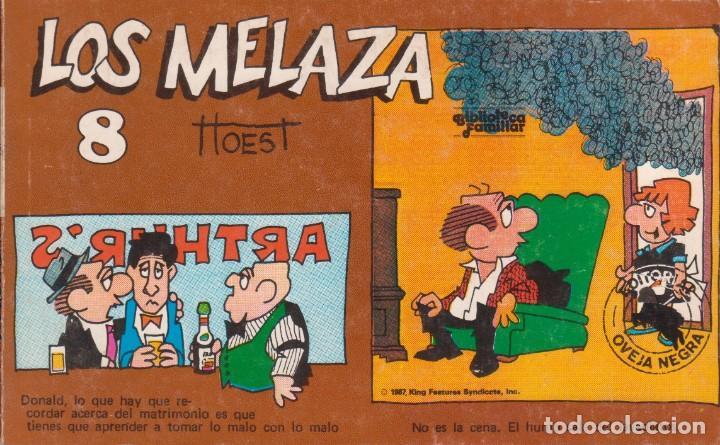 "CÓMIC REC. TIRAS DE PRENSA "" LOS MELAZA Nº 8 (TTOEST) ED. OVEJA NEGRA (BIB. FAMILIAR) 1987 COLOMBIA (Tebeos y Comics Pendientes de Clasificar)"