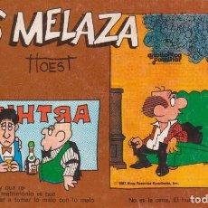 """Cómics: CÓMIC REC. TIRAS DE PRENSA """" LOS MELAZA Nº 8 (TTOEST) ED. OVEJA NEGRA (BIB. FAMILIAR) 1987 COLOMBIA. Lote 231351875"""