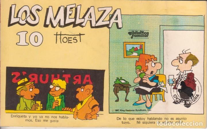 "CÓMIC REC. TIRAS DE PRENSA "" LOS MELAZA Nº 10 (TTOEST) ED. OVEJA NEGRA (BIB. FAMILIAR) 1987 COLOMBIA (Tebeos y Comics Pendientes de Clasificar)"