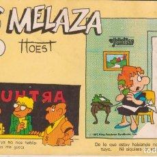 """Cómics: CÓMIC REC. TIRAS DE PRENSA """" LOS MELAZA Nº 10 (TTOEST) ED. OVEJA NEGRA (BIB. FAMILIAR) 1987 COLOMBIA. Lote 231352060"""