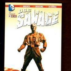 Cómics: DOC SAVAGE : MUERTE EN EL CORAZON DEL PARAISO - ECC / DC / RUSTICA / DOUG MOENCH & JOHN BUSCEMA. Lote 229703305