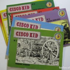 Cómics: CISCO KID-COLECCION COMPLETA 7 COMICS-ART COMICS-HEROES DE SIEMPRE-ED·ESSEUVE-VER FOTOS-(V-22.405). Lote 231392740