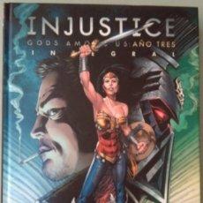 Cómics: INJUSTICE GODS AMONG US AÑO TRES INTEGRAL-DC ECC. Lote 231420290