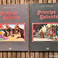 Cómics: PRINCIPE VALIENTE, VOLUMEN 1 Y VOLUMEN 2. AUTOR, HAROLD FOSTER. EDITA MANUEL CALDAS, LIBROS DE PAPEL. Lote 231474095