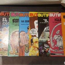 Cómics: LOTE COMICS - BUTIFARRA!. NUMEROS DEL 3 AL 13 - REVISTA MENSUAL - AÑO 1977. Lote 231488195
