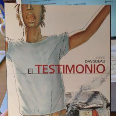 Cómics: EL TESTIMONIO, ETIENNE DAVODEAU, ED. PONENT MON, BACELONA, 2008 MUY RARO. Lote 231807825