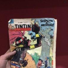 Cómics: ANTIGUO TEBEO TINTIN FRANCÉS 1962 . VER FOTOS. Lote 231816155