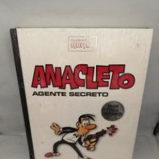 Cómics: CLÁSICOS DEL HUMOR. ANACLETO, AGENTE SECRETO (CON RETRACTILADO PLÁSTICO DE EDITORIAL SIN RASGAR). Lote 231846415