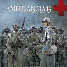 Cómics: AMBULANCIA 13 2 : MUERTOS SIN NOMBRE - YERMO / TAPA DURA / NUEVO Y PRECINTADO. Lote 231955115