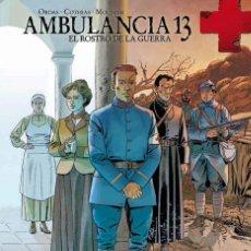 Cómics: AMBULANCIA 13 3 : EL ROSTRO DE LA GUERRA - YERMO / TAPA DURA / NUEVO Y PRECINTADO. Lote 231955390