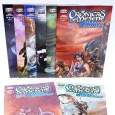 Comics: CRÓNICAS DE MESENE: EL MAR DE LAS TINIEBLAS 1 A 8. COMPLETA (ROKE / OCAÑA / QSTOM) DUDE, 2002. OFRT. Lote 251190080