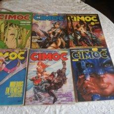 Fumetti: LOTE 6 ALBUMS CIMOC. Lote 232122325