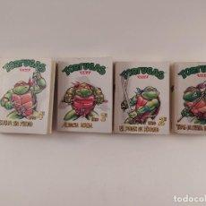 Fumetti: TORTUGAS NINJA MINI LIBROS,EDICIONES TIEMPO AÑO 1990,COLECCION COMPLETA,VER FOTOS! SM. Lote 232190885