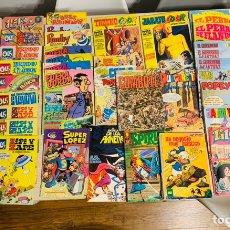 Cómics: 50 LOTE COMICS Y REVISTAS DE AÑOS 70 Y 80 .. Lote 232233660